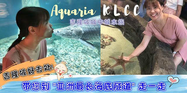 "Read more about the article 吉隆坡旅游好去处!带您前往""亚洲最长海底隧道""吉隆坡城中城水族馆Aquaria KLCC走一走!"