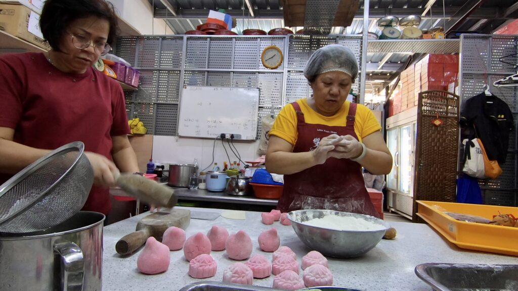 吉隆坡茨厂街双英斋月饼
